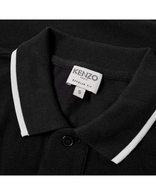 006f8694 Lyst - KENZO Tiger Polo in Black for Men - Save 52%