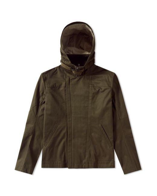 Helmut Lang | Green X Travis Scott Debris Patch Hooded Jacket for Men | Lyst