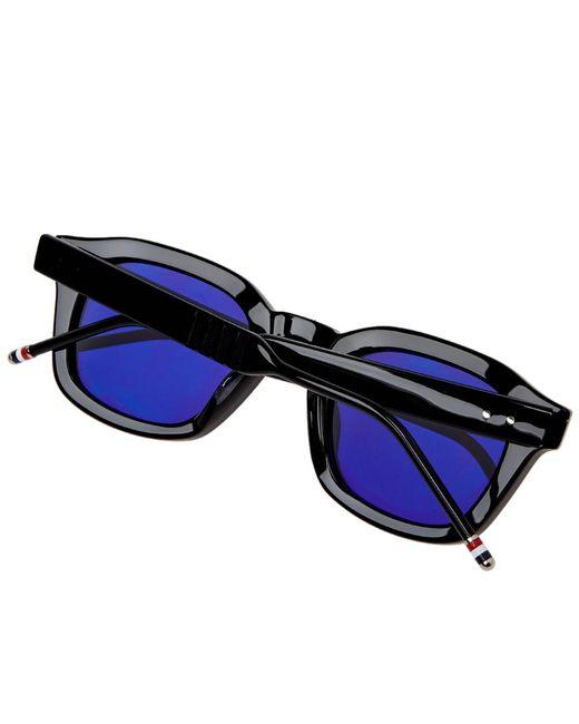 87237087eeca ... Thom Browne - Black Tb-412 Sunglasses for Men - Lyst ...