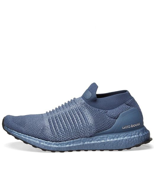 d3143937464 ... Adidas - Blue Ultra Boost Laceless W - Lyst ...