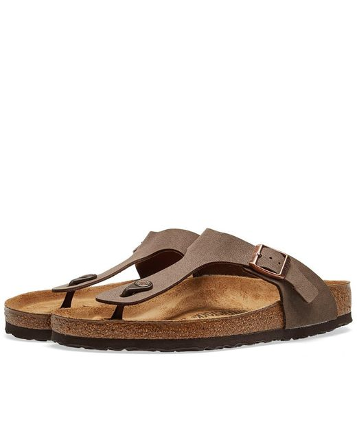 74933e268358 Birkenstock Stone Gizeh Sandals in Brown for Men - Save 8% - Lyst