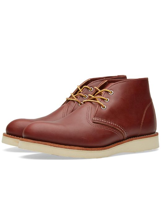 Red Wing - Brown 3139 Heritage Work Chukka for Men - Lyst