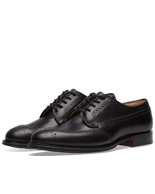 e7efe4175829 Church s Church s Thickwood Longwing Brogue in Black for Men - Save ...