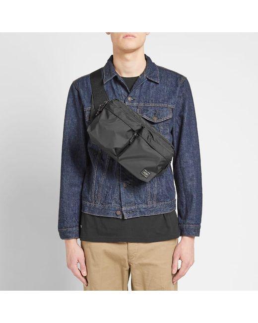 3cd87c73314a ... Porter - Black Force Waist Bag for Men - Lyst ...