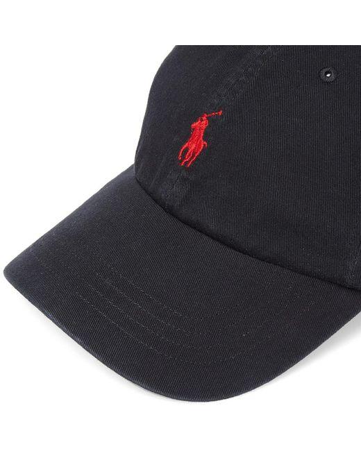 bb2285de ... Polo Ralph Lauren - Black Classic Baseball Cap for Men - Lyst ...