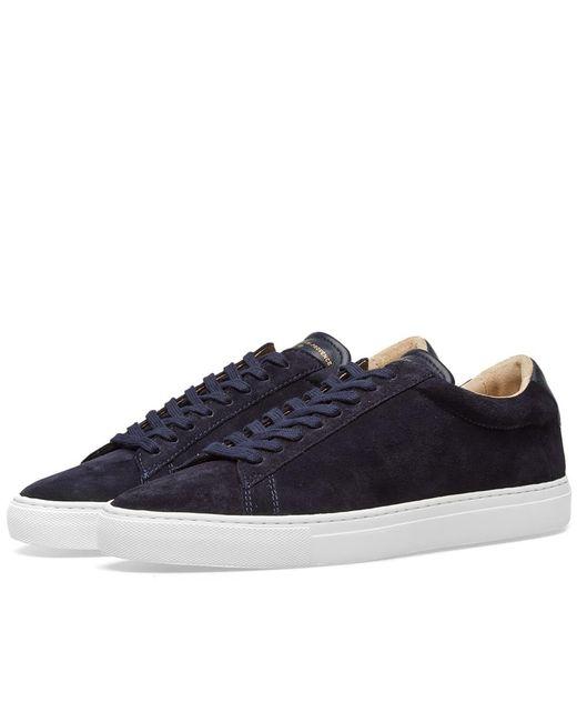 Zespà - Blue Zsp4 Hgh Suede Sneaker for Men - Lyst
