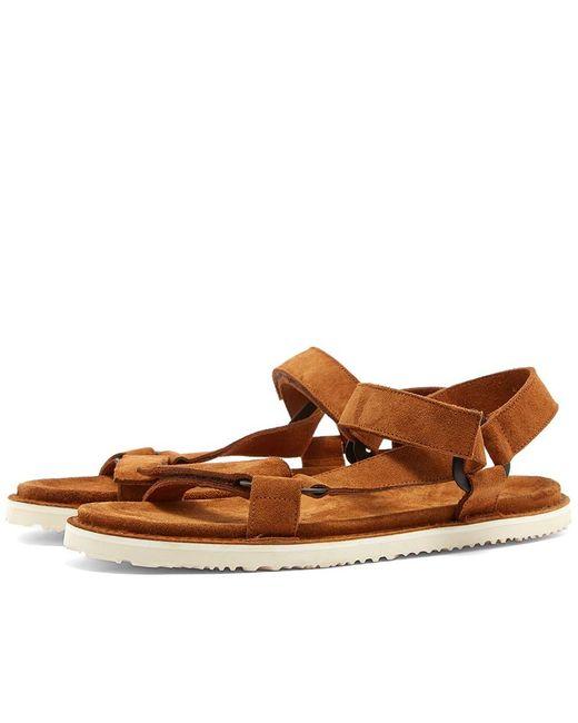 Buttero - Brown Sports Sandal for Men - Lyst