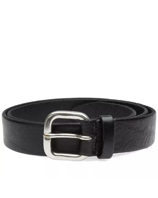 Andersons - Black Anderson's Burnished Leather Belt for Men - Lyst