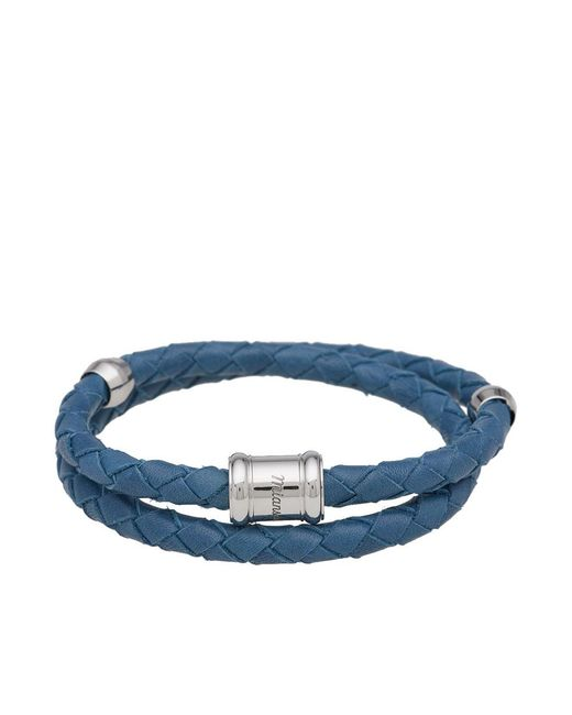 Miansai | Blue Leather Casing Bracelet for Men | Lyst