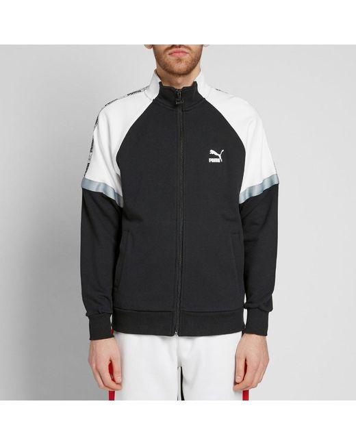 08eccd5e1654 Lyst - PUMA Xtg Retro Track Jacket in Black for Men - Save 5%