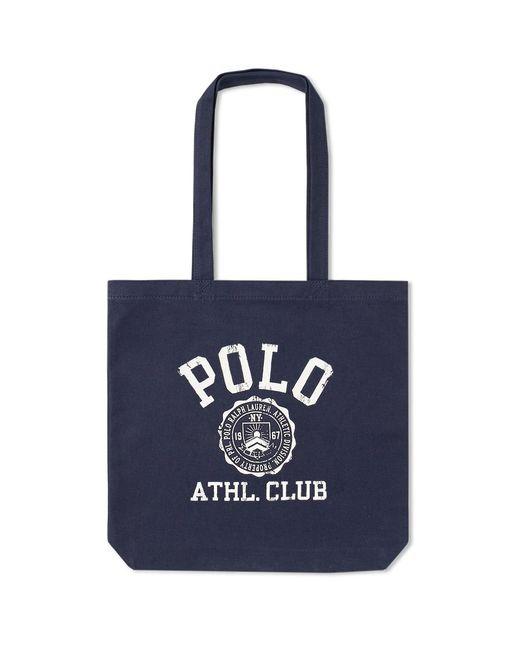 e4b6695da0 Polo Ralph Lauren - Blue Logo Canvas Tote Bag for Men - Lyst ...