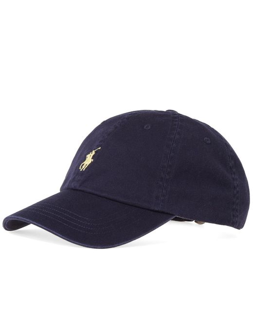 Polo Ralph Lauren - Blue Cotton Chino Sport Cap for Men - Lyst
