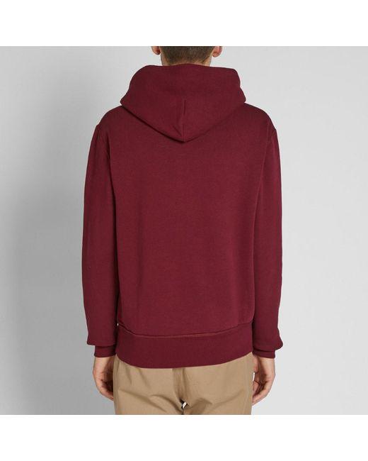 9a38d6f04ab8 ... Polo Ralph Lauren - Multicolor Varsity Applique Logo Popover Hoody for  Men - Lyst ...