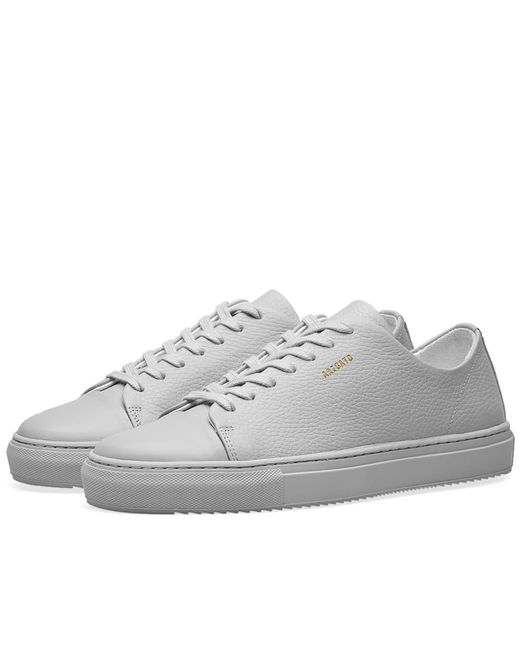 Axel Arigato - Gray Toe Cap Sneaker for Men - Lyst