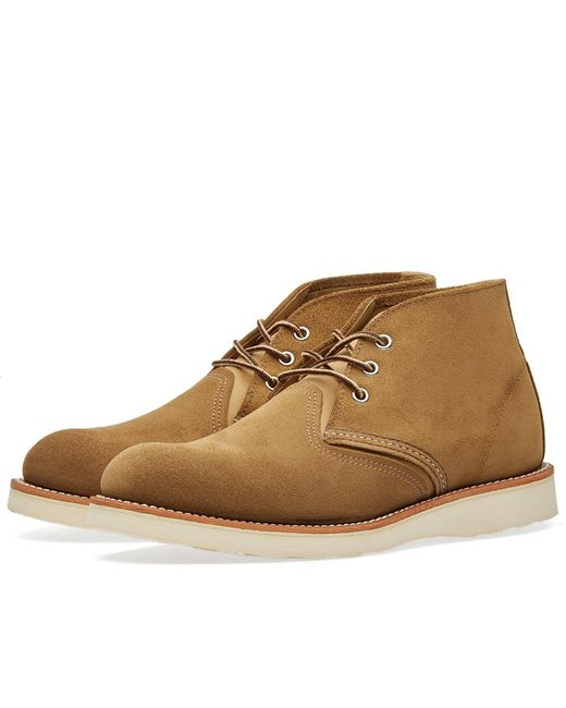 Red Wing | Green 3149 Heritage Work Chukka for Men | Lyst