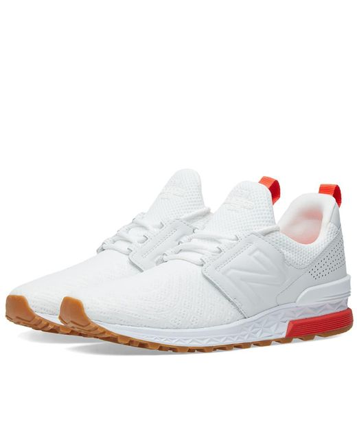 New Balance - White Ms574dfp 'russian Football' for Men - Lyst