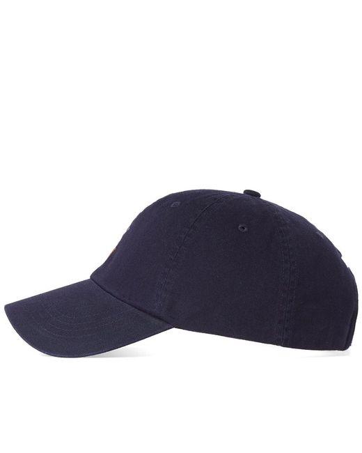 07f653f3394 ... Polo Ralph Lauren - Blue Classic Baseball Cap for Men - Lyst ...