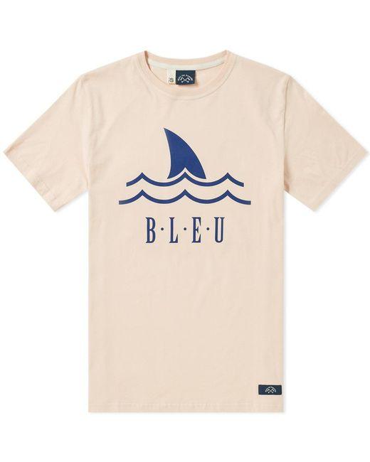 Bleu De Paname - Pink Shark Logo Tee for Men - Lyst