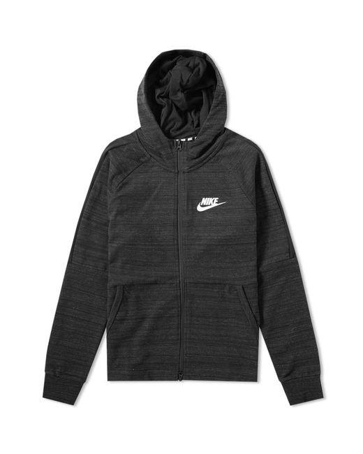 Nike - Black Advance 15 Hooded Jacket for Men - Lyst