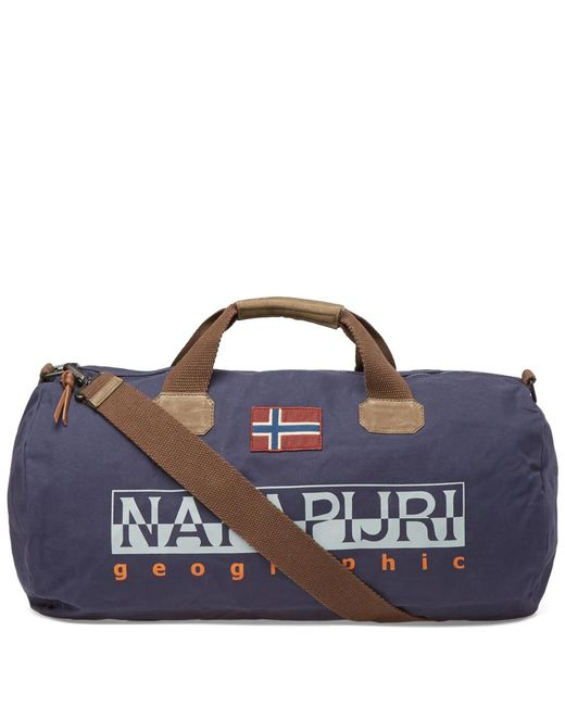 Napapijri | Blue Bering Duffle Bag for Men | Lyst