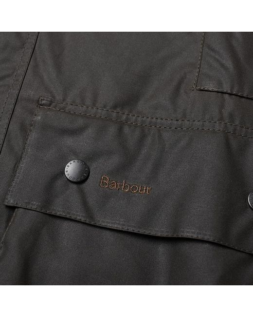 1fd1f334fa96 Barbour Classic Beaufort Wax Jacket in Green for Men - Save 23% - Lyst