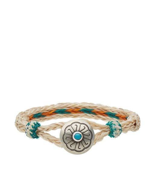 Chamula - Blue Turquoise Concho Bracelet for Men - Lyst
