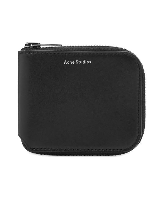 Acne Black Csarite S Wallet for men