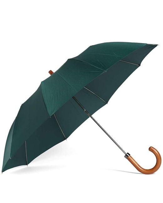 London Undercover - Green Maple Telescopic Umbrella - Lyst