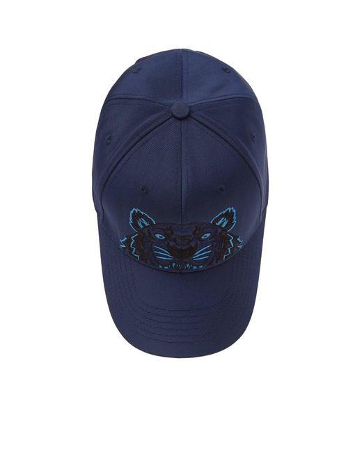 35820cd3581 ... KENZO - Blue Tiger Cap for Men - Lyst ...