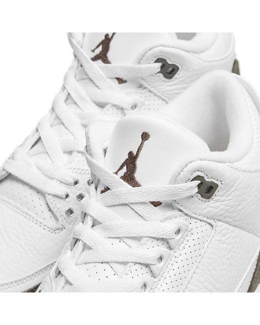2498cad27c8 ... Nike - White Air Jordan 3 Retro for Men - Lyst ...