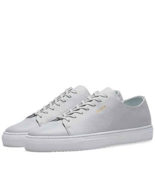 Axel Arigato | Gray Toe Cap Sneaker for Men | Lyst