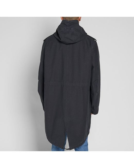 Faith connexion Light Tail Parka in Black for Men | Lyst