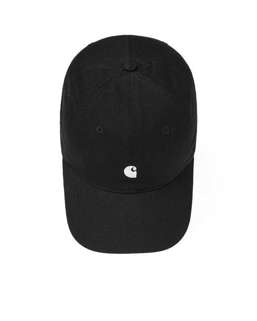 fc9ab132413 ... Carhartt WIP - Black Carhartt Madison Logo Cap for Men - Lyst ...