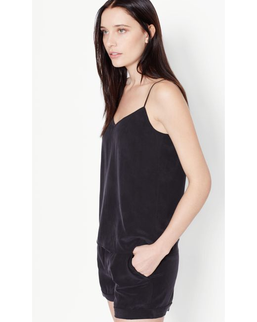 Equipment Layla Camisole Pyjama Set In Black Lyst