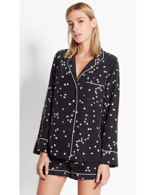 Equipment | Black Lillian Pajama Set | Lyst