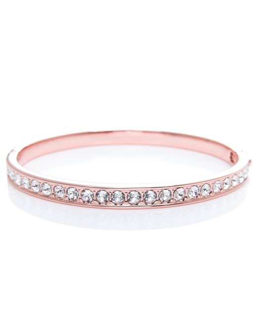 Ted Baker | Pink Clemara Crystal Bangle | Lyst