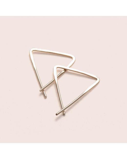 Erica Weiner - Yellow Teepee Earrings - Lyst