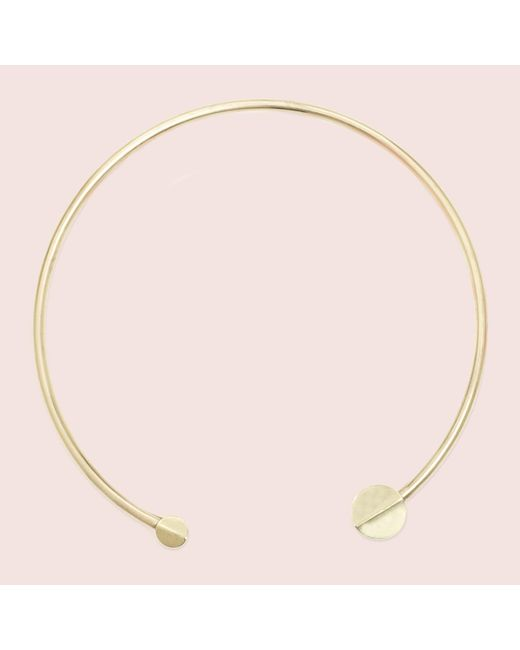 Erica Weiner | Metallic Orbit Collar | Lyst