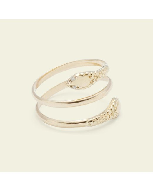 Erica Weiner - Yellow Two-headed Snake Ring - Lyst