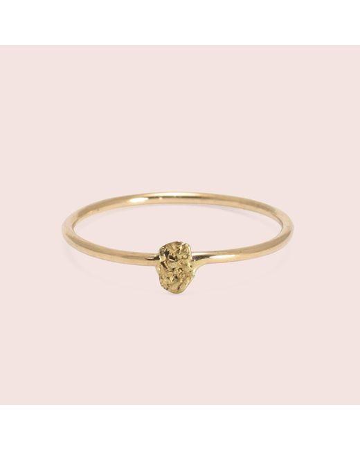 Erica Weiner - Metallic Gold Nugget Ring - Lyst
