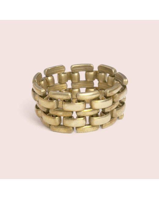 Erica Weiner   Metallic Flex Ring   Lyst