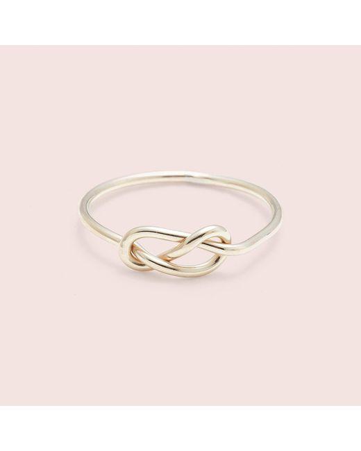 Erica Weiner - Yellow Infinity Ring - Lyst