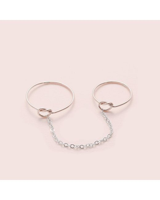 Erica Weiner | Metallic Tether Ring | Lyst