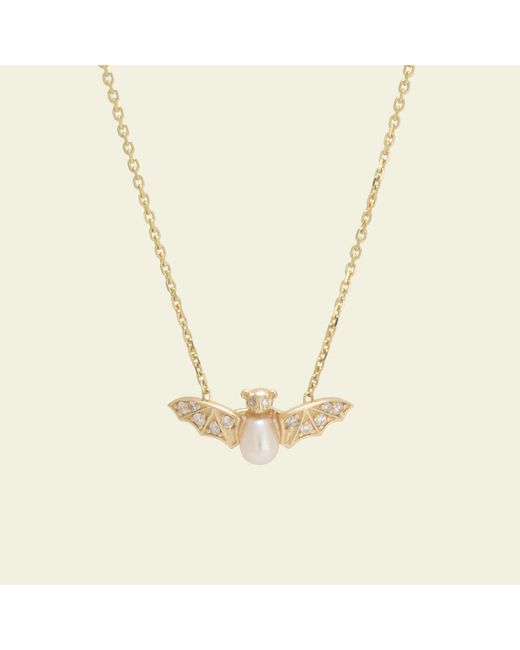 Erica Weiner - Multicolor Jeweled Bat Necklace - Lyst