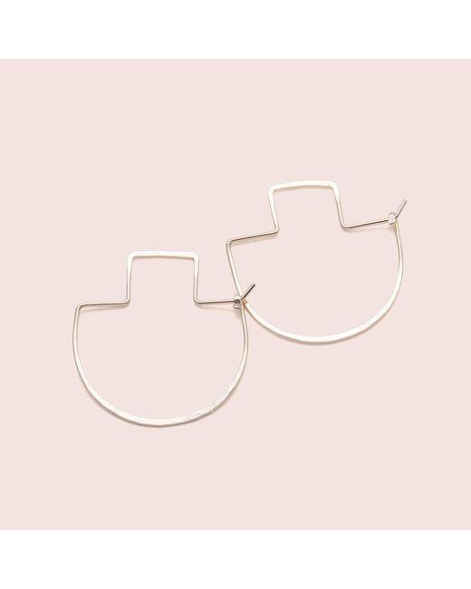 Erica Weiner - Yellow Fibula Earrings - Lyst