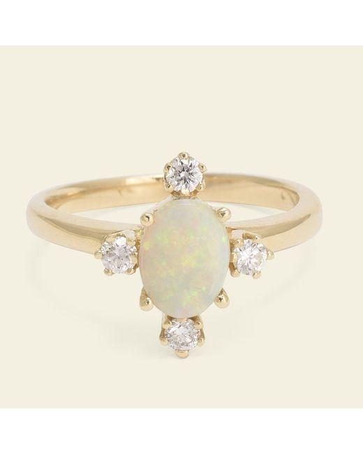 Erica Weiner - Metallic Directional Ring (opal) - Lyst