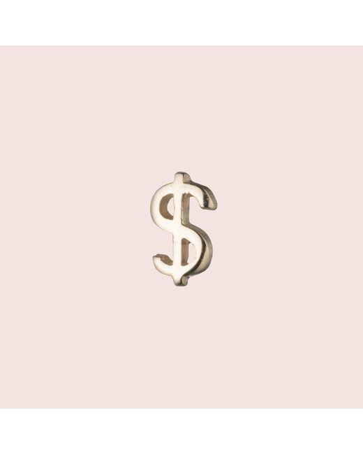 Erica Weiner - Metallic Currency Stud (dollar) - Lyst