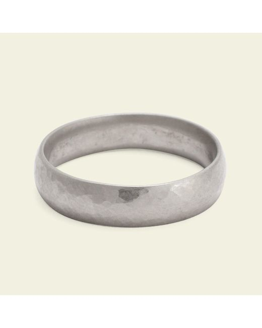 Erica Weiner - Metallic Hammered 5mm Recycled Gold Band - Lyst