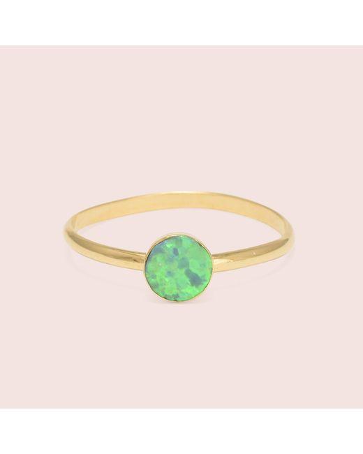 Erica Weiner - Green Golden Circle Opal Rings - Lyst