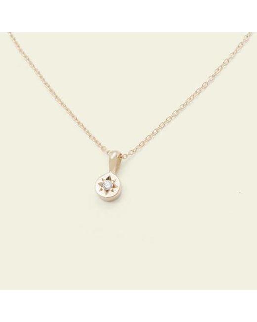 Erica Weiner - Metallic Gypsy Spark Necklace (14k Yellow Gold) - Lyst